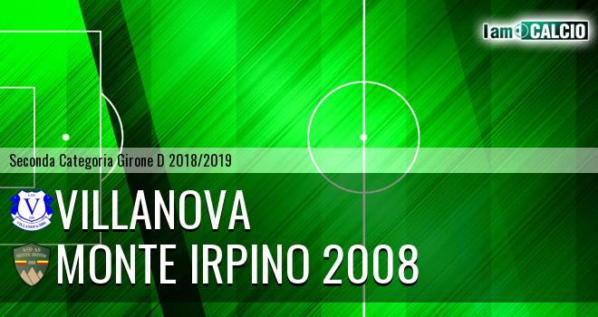 Villanova - Monte Irpino 2008