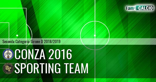 Conza 2016 - Sporting Team
