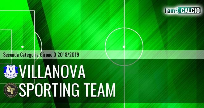 Villanova - Sporting Team Maroso