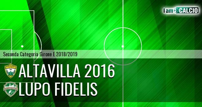Altavilla 2016 - Lupo Fidelis
