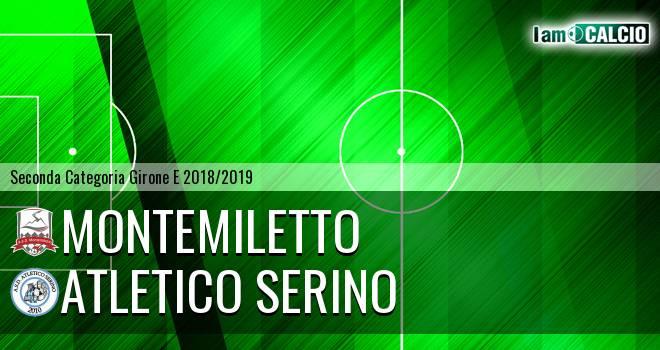 Montemiletto - Atletico Serino