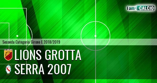 Lions Grotta - Serra 2007