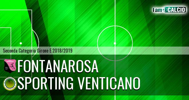 Fontanarosa - Sporting Venticano