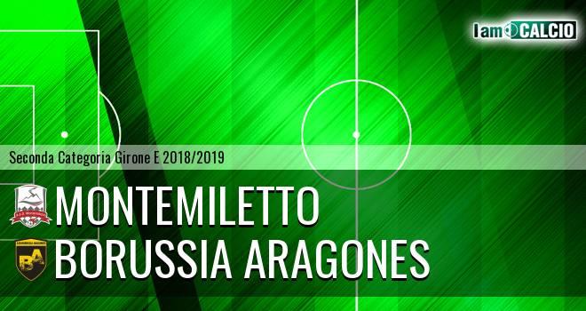 Montemiletto - Borussia Aragones