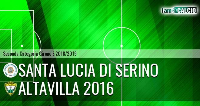 Santa Lucia di Serino - Altavilla 2016