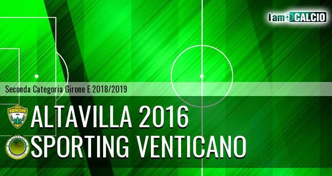 Altavilla 2016 - Sporting Venticano