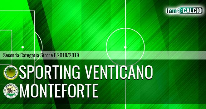 Sporting Venticano - Monteforte