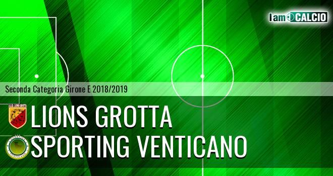 Lions Grotta - Sporting Venticano