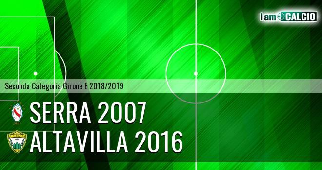 Serra 2007 - Altavilla 2016