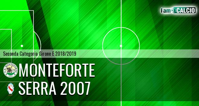 Monteforte - Serra 2007