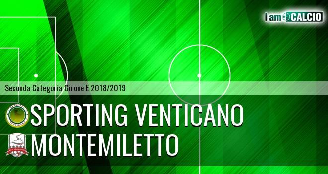 Sporting Venticano - Montemiletto