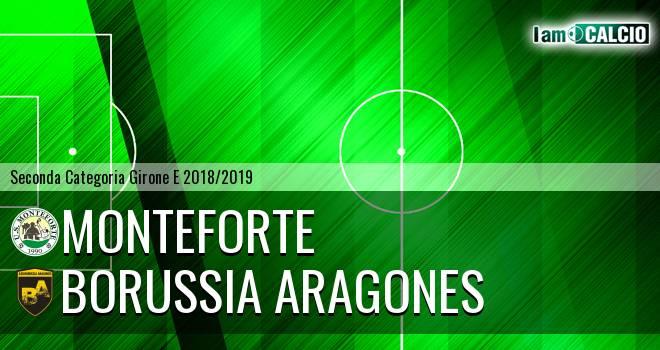 Monteforte - Borussia Aragones