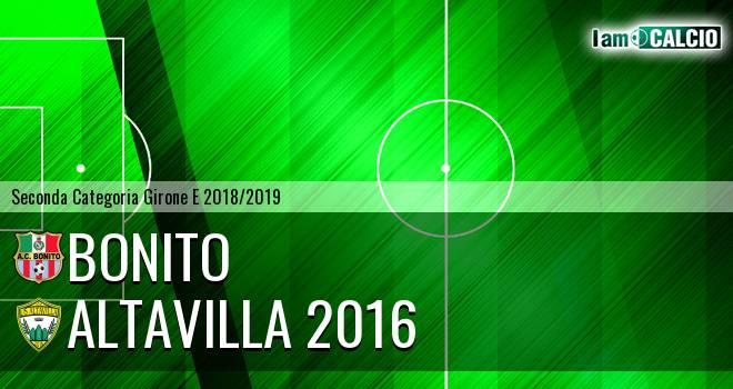 Bonito - Altavilla 2016