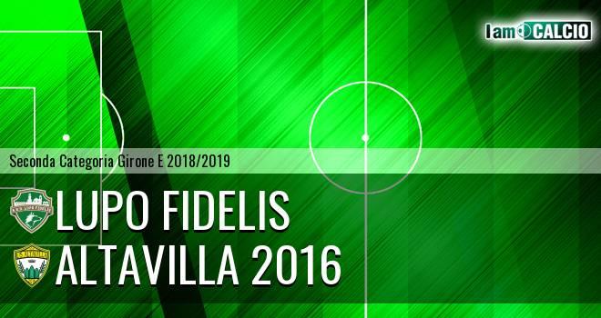 Lupo Fidelis - Altavilla 2016