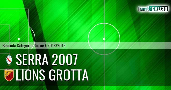 Serra 2007 - Lions Grotta