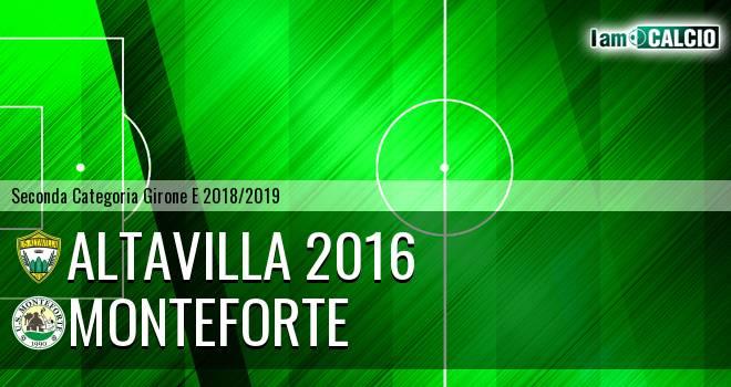 Altavilla 2016 - Monteforte