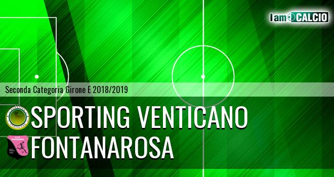 Sporting Venticano - Fontanarosa