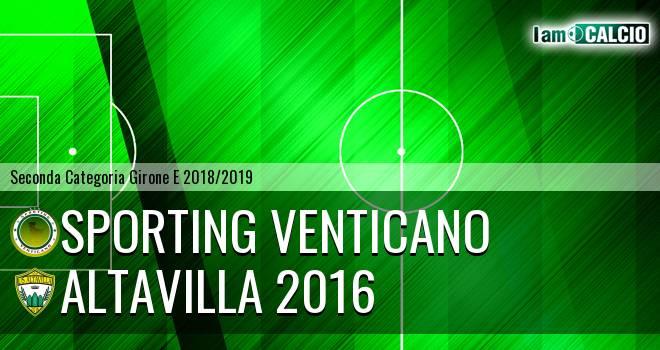 Sporting Venticano - Altavilla 2016