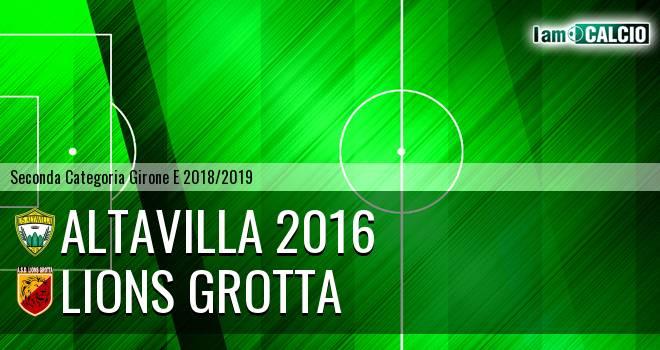 Altavilla 2016 - Lions Grotta