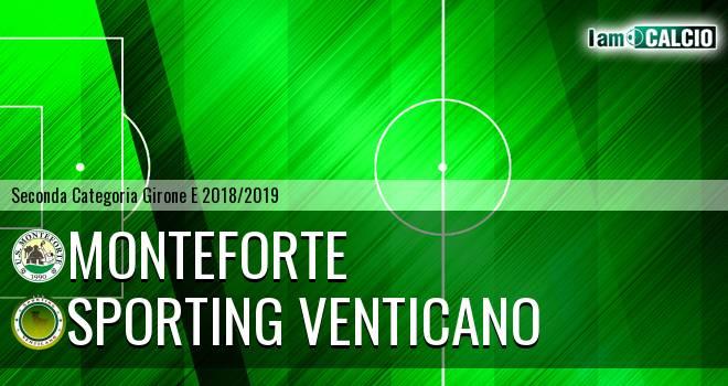 Monteforte - Sporting Venticano