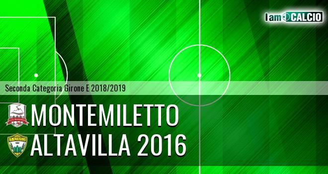 Montemiletto - Altavilla 2016