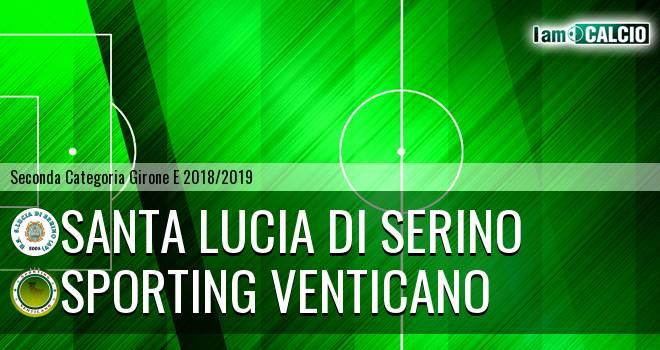 Santa Lucia di Serino - Sporting Venticano