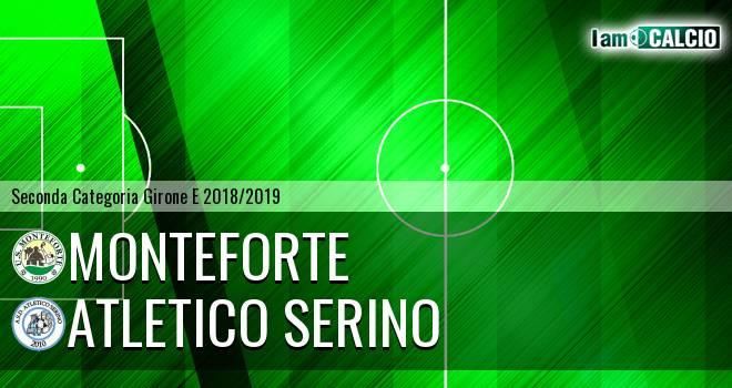 Monteforte - Atletico Serino