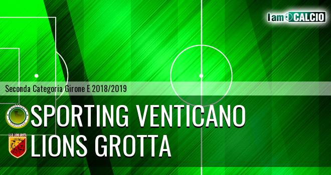 Sporting Venticano - Lions Grotta
