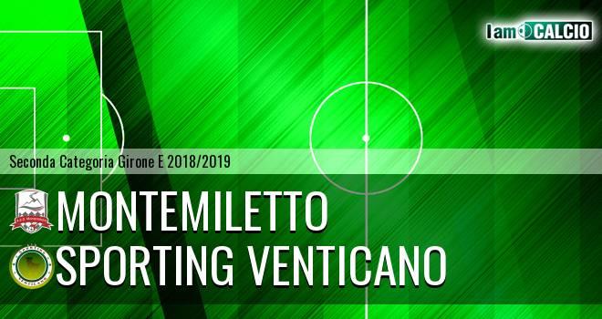 Montemiletto - Sporting Venticano