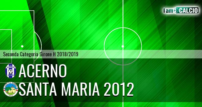 Acerno - Santa Maria 2012
