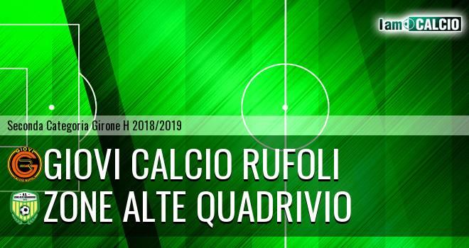 Giovi Calcio Rufoli - Zone Alte Quadrivio