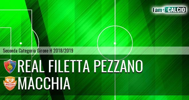 Real Filetta Pezzano - Macchia