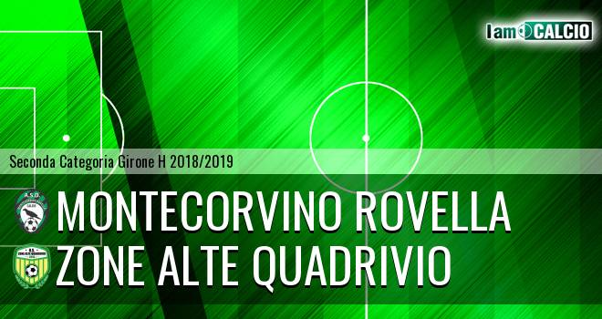 Montecorvino Rovella - Zone Alte Quadrivio