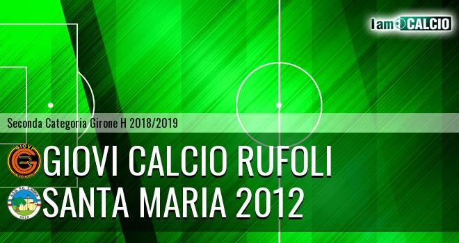 Santa Maria 2012 - Giovi Calcio Rufoli