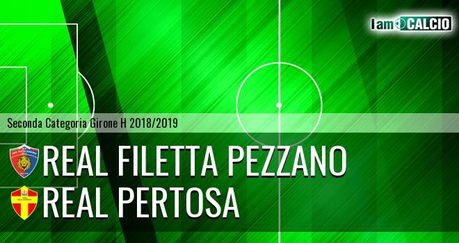 Real Filetta Pezzano - Real Pertosa