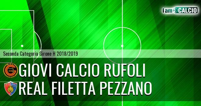 Giovi Calcio Rufoli - Real Filetta Pezzano