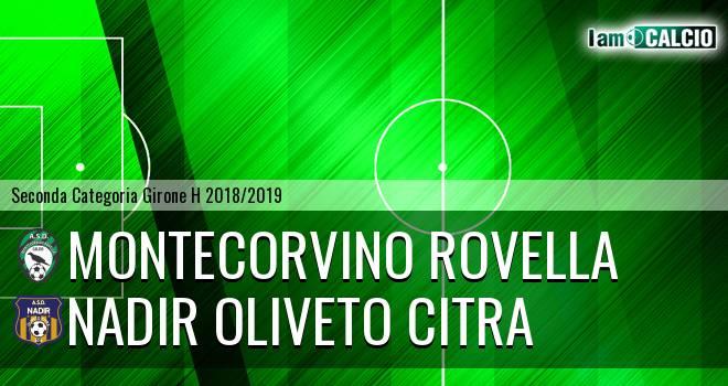 Montecorvino Rovella - Nadir Oliveto Citra