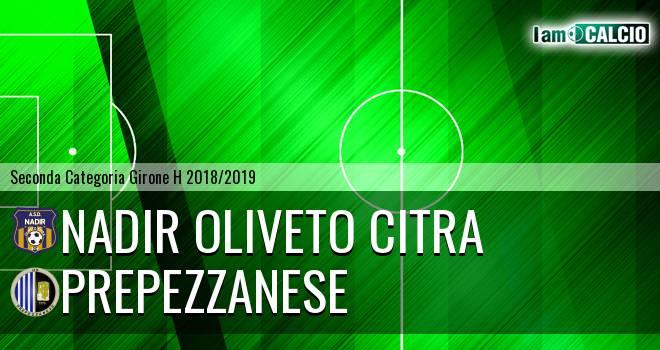 Nadir Oliveto Citra - Prepezzanese