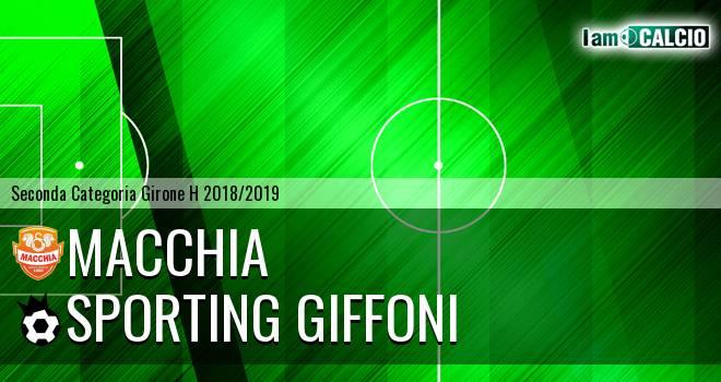 Macchia - Sporting Giffoni