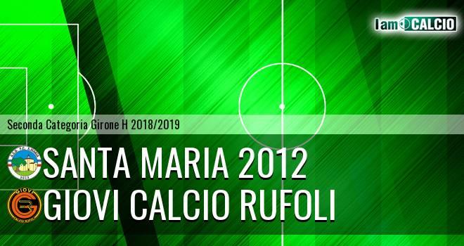 Giovi Calcio Rufoli - Santa Maria 2012