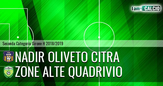 Nadir Oliveto Citra - Zone Alte Quadrivio