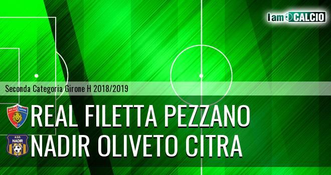 Real Filetta Pezzano - Nadir Oliveto Citra