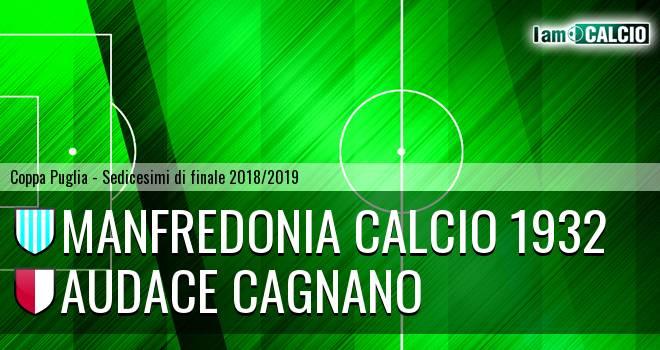 Manfredonia Calcio 1932 - Audace Cagnano