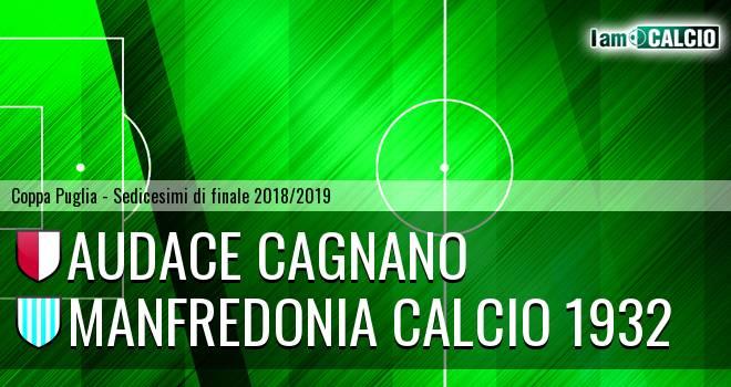 Audace Cagnano - Manfredonia Calcio 1932