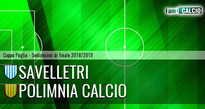 Savelletri - Polimnia Calcio