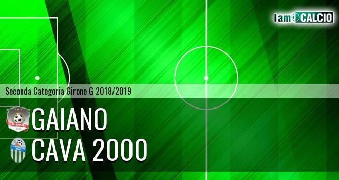 Gaiano - Cava 2000