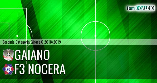 Gaiano - F3 Nocera
