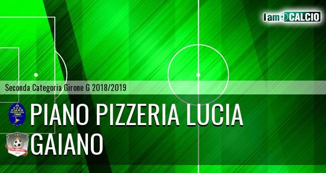Piano Pizzeria Lucia - Gaiano