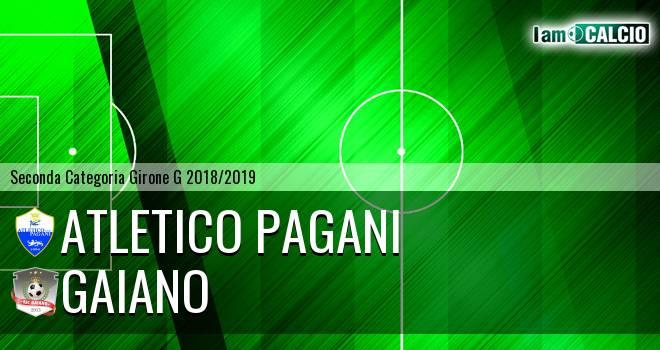 Atletico Pagani - Gaiano