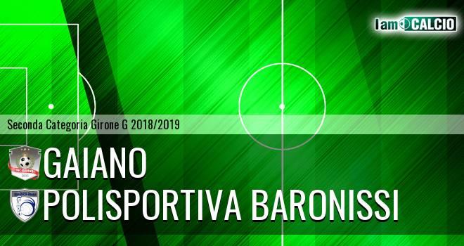 Gaiano - Polisportiva Baronissi